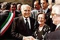 Maddalena Cerasuolo with Presidente della Repubblica Oscar Luigi Scalfaro.jpg