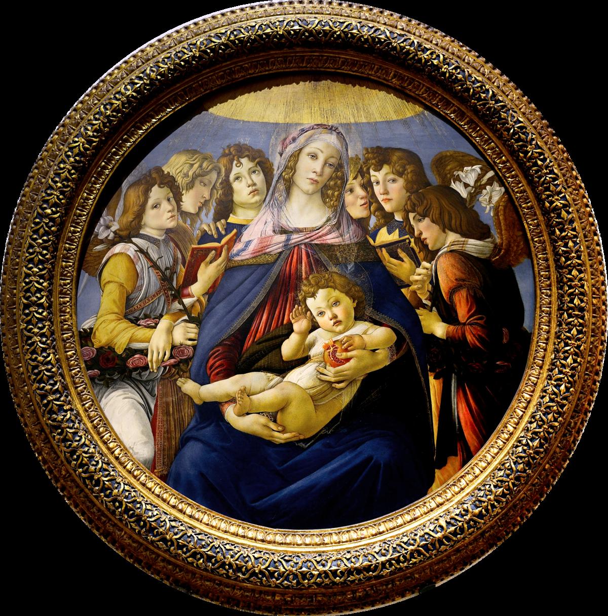 Madonna Of The Pomegranate Wikipedia