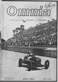 Magazine illustrations of foreign automobiles and racing cars. - NARA - 283788.tif