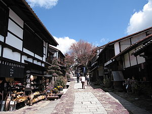 Shukuba - Nakasendō's Magome-juku