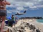 Maho Beach St Maarten, April 2012.jpg