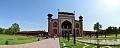 Main Gateway with Charbagh Garden - Taj Mahal Complex - Agra 2014-05-14 3960-3965 Archive.tif