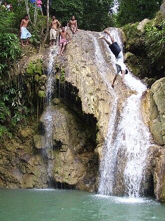 Tablas Island - Mainit Falls
