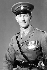 A portrait of Leslie Andrew, a captain at the time, in 1935.