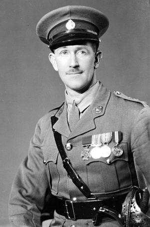 Leslie Andrew - A portrait of Leslie Andrew, a captain at the time, in 1935.