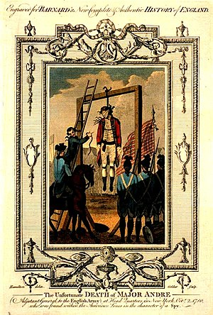Tappan, New York - Hanging of Major André