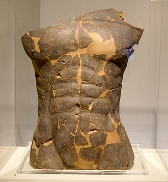 Portonaccio (Veio) - Huge male torso from the Temple of Apollo, probably Hercules, 550 BC