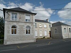 Malville - The town hall in Malville