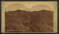 Manitou and Pike's Peak, by Weitfle, Charles, 1836-1921.png