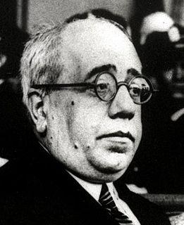 Manuel Azaña Spanish Republican prime minister
