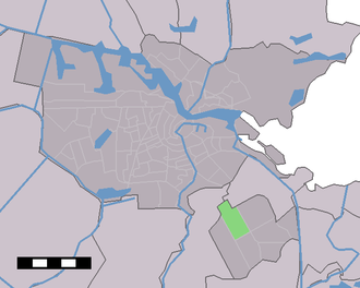 Bijlmermeer - Image: Map NL Amsterdam Bijlmer Centrum