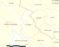 Map commune FR insee code 31097.png