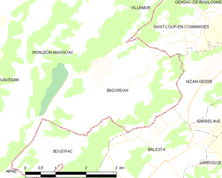 Bestand:Map commune FR insee code 65074.png
