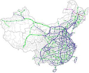 Autobahn SuifenheManzhouli Wikipedia - Manzhouli map