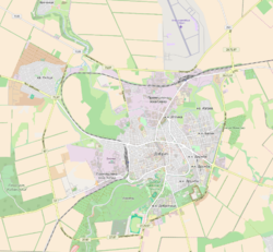 Map of Dobrich.png