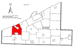 Map of Girard Township, Erie County, Pennsylvania Highlighted.png