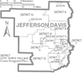Category Maps Of Jefferson Davis Parish Louisiana