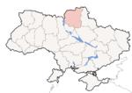 Oblast di Černihiv - Mappa di localizzazione