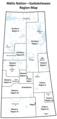 Map of the governance regions of Métis Nation—Saskatchewan.png