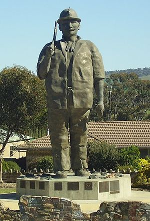 Kapunda - Image: Map the Miner at Kapunda South Australia