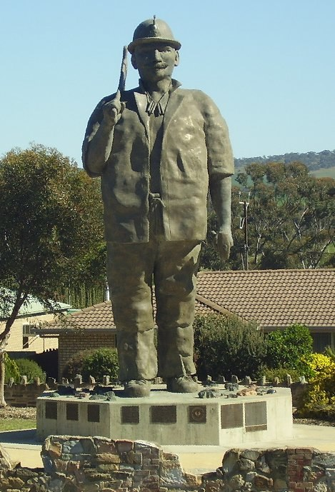 Map the Miner at Kapunda South Australia