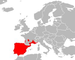 Mapa Timon lepidus.png