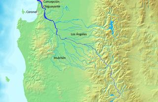 Biobío River river in Chile