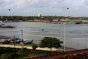 Mappila Bay - Another View of the Harbour from Kannur Fort