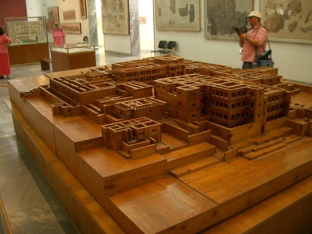 Maquette de Knossos
