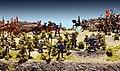 Maquette de la Bataille des Plaines d'Abraham dans Musées de la civilisation.jpg