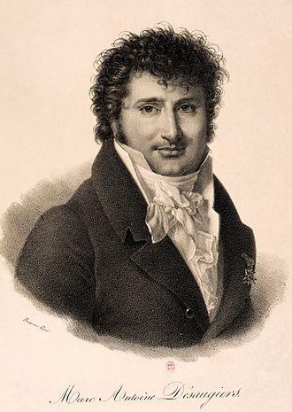 Marc-Antoine Madeleine Désaugiers - Marc-Antoine Madeleine Désaugiers, ca. 1810, Bibliothèque nationale de France.