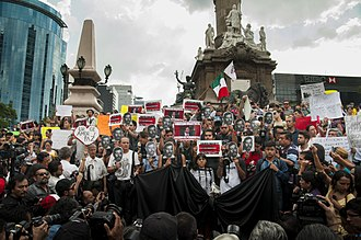 Human rights in Mexico - Mexican journalist Rubén Espinosa was murdered in Mexico City after fleeing death threats in Veracruz.