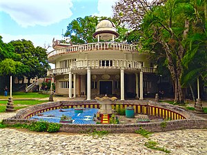 Corruption in Venezuela - A house of Marcos Pérez Jiménez that featured fountains, a pool, an elevator, an observatory and tunnels.
