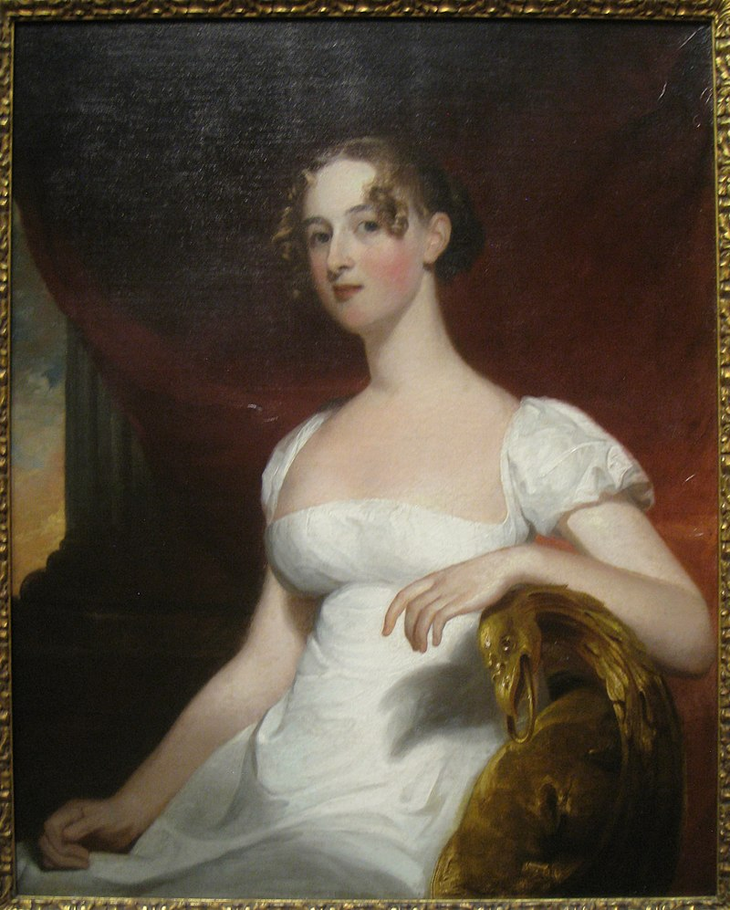 Margaret Siddons, Mrs. Benjamin Kintzing, 1812, by Thomas Sully (1783-1872) - Worcester Art Museum - IMG 7695.JPG