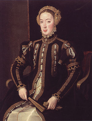 Maria of Portugal, Duchess of Viseu - Anthonis Mor (c. 1550-1555)