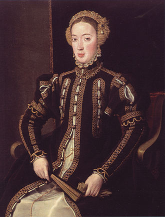 Maria of Portugal, Duchess of Viseu - Anthonis Mor (c. 1550–1555)