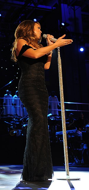 "Hero (Mariah Carey song) - Carey performing ""Hero"" live during The Neighborhood Inaugural Ball for President Obama in Washington D.C.."