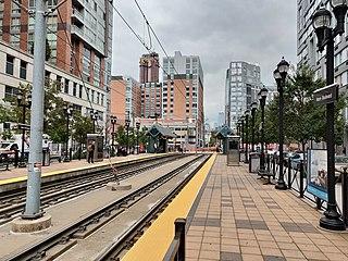 Marin Boulevard station Hudson-Bergen Light Rail station