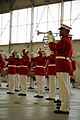 Marine Corps Battle Color Detachment performs at MCAS Beaufort 140318-M-UU619-248.jpg