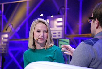 Marissa Mayer - Marissa Mayer at an interview while working for Google.