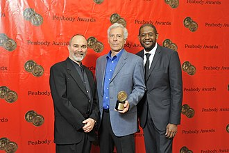 Brick City (TV series) - Mark Benjamin, Marc Levin and Forest Whitaker at the 69th Annual Peabody Awards for Brick City
