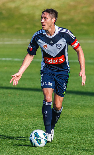 Mark Milligan - Milligan playing for Melbourne Victory in 2012