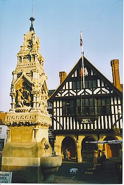 Market Cross and Town Hall, Saffron Walden. - geograph.org.uk - 138028