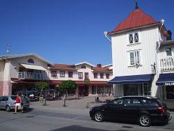 Marknadsplatsen i Vårgårda, den 16 juni 2006, bild 2.JPG