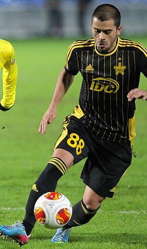 Marko Stanojević - Stanojević with FC Sheriff in 2013
