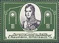 Marschall Ney - C. Naumann 'Faustring' Lanolin-Seife, 1913.jpg
