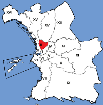 3rd arrondissement of Marseille - Image: Marseille Arrondissements 03