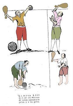 jugar pelota lamiendo