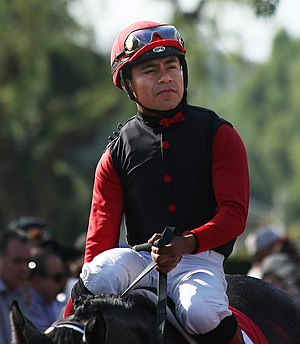 Martin Garcia (jockey) - Garcia in 2014