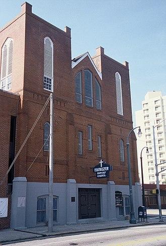 Ebenezer Baptist Church (Atlanta, Georgia) - Ebenezer Baptist Church, Atlanta